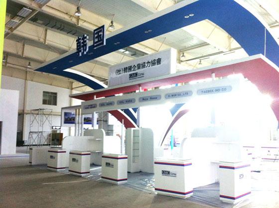 展台展厅设计 展览展示设计   9平米展台效果图 54平米展台