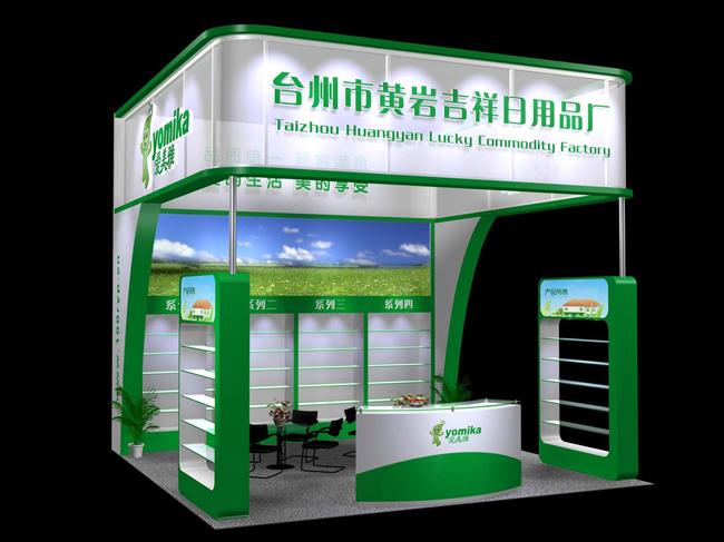桁架36平_36平木质展位设计图_36平木质展位设计图分享展示