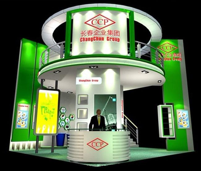 展览展示36平米展台设计