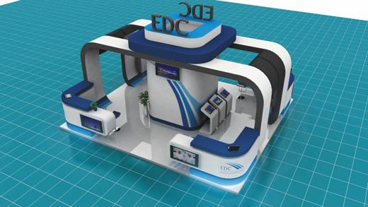 国外展台设计精品展台展厅设计
