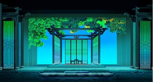 舞台美术是包括布景,道具