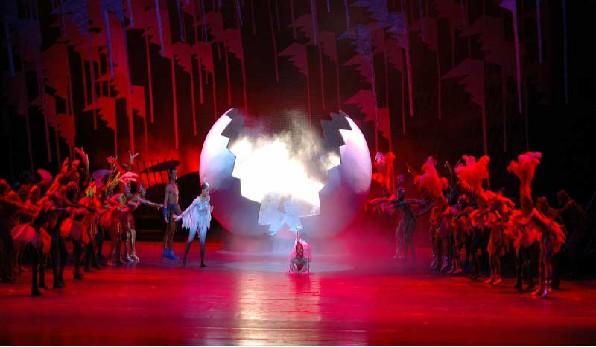 舞美灯光设计之大型舞蹈诗剧 鹤鸣湖