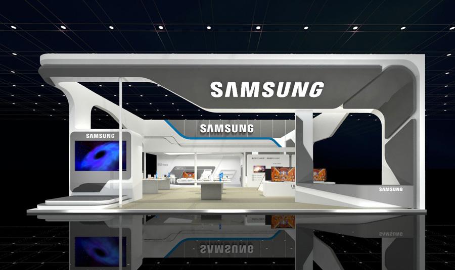 米展台设计展台展厅设计 展览展示设计 灯光音响租赁 展台搭建 展馆