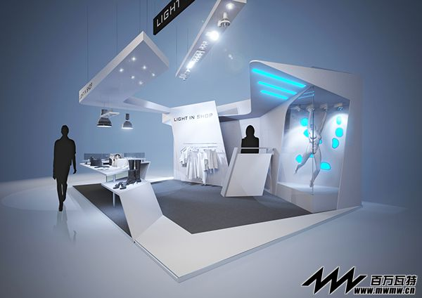 国外展台设计之服装展台展台展厅设计 - 展览展示设计